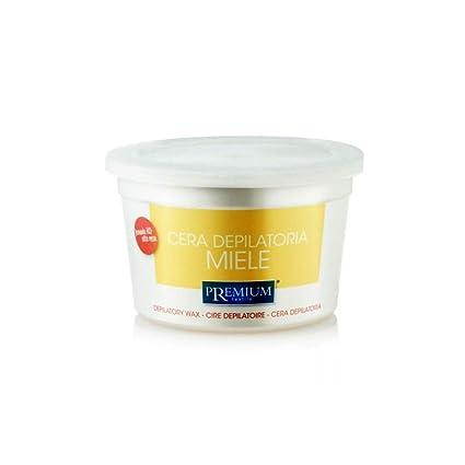 Premium miel cálido Cera, 350 ml para el microondas: Amazon ...