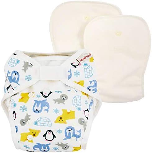 ImseVimse - Pañal reutilizable (talla única, incluye compresas de algodón orgánico): Amazon.es: Salud y cuidado personal