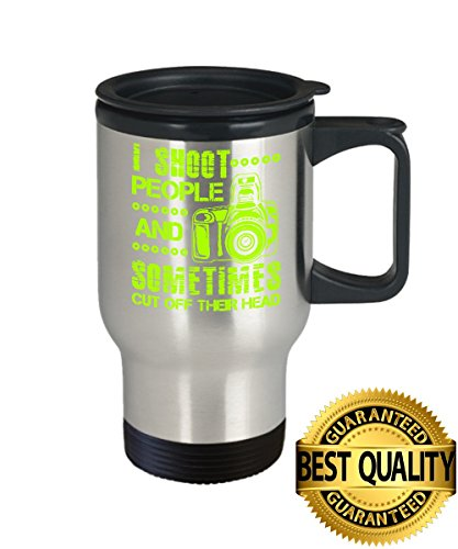 BEST QUALITY, Photographer Travel Mug, Best Gift For Photographer Cup, 14oz Stainless Steel, by - For Get Glasses My Clear Lenses Where I Can