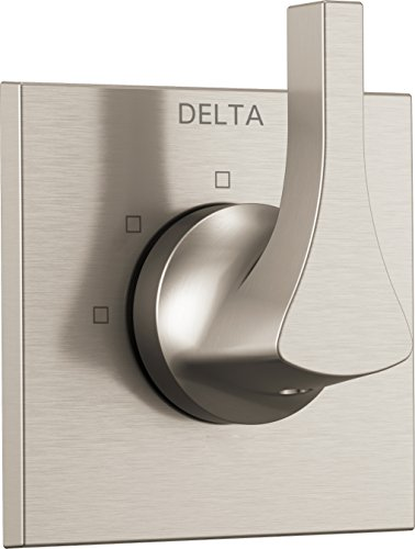 Delta Faucet T11874-SS Zura 3-Setting Diverter Trim, Stainless (Diverter Ds)