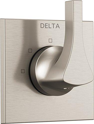 Delta Faucet T11874-SS Zura 3-Setting Diverter Trim, Stainless (Ds Diverter)