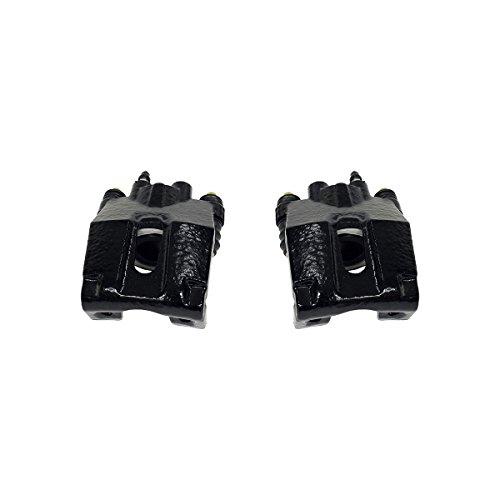 CK00980 [ 2 ] REAR Performance Grade Black Powder Coated Caliper Assembly Pair Set