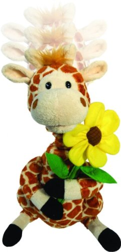 "Cuddle Barn | Gerry 12"" Giraffe Animated Stuffed Animal Plush 