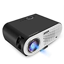 Full Color 200inch big screen LED Android Projector 3200 Lumen GP90 Projector Built-in Bluetooth WIFI Beamer Proyector Support KODI AC3 LED TV