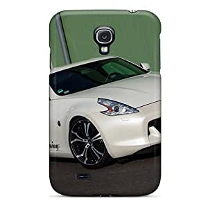 "Awesome BYhvTsO1092ZwUuQ Jesussmars Defender Tpu Hard Case Cover For Galaxy S4- Senner Tuning Nissan 370z Whitelady '2009a€""12"