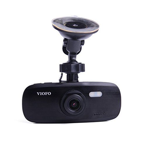 G1W-S Car Dash Camera with GPS | Full 1080P HD Video & Audio Recording Support GPS Logger G-Sensor Capabilities | NT96650 + Sony IMX323