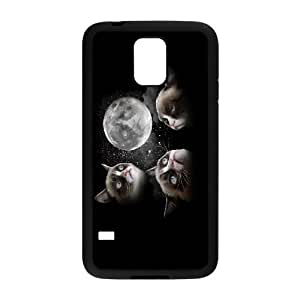 Yo-Lin case FXYL249866Cat art pattern protective case cover For Samsung Galaxy S5