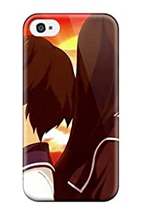Awesome Garei Kagura And Yomi Flip Case With Fashion Design For Iphone 4/4s