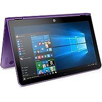 HP X360 Convertible 15.6-inch 2-in-1 Full HD IPS Touchscreen Laptop (7th Intel Core i5- 7200U, 8GB RAM, 1TB HDD, Backlit Keyboard, Bluetooth, 802.11ac, HDMI, Windows 10-Sporty Purple)