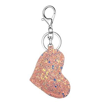 Amazon.com   Sikye Women s Fashion Keychain Ornaments Novelty Cartoon Key  Car Bag Pendant Collection (A)   Office Products 42f54ef6f9