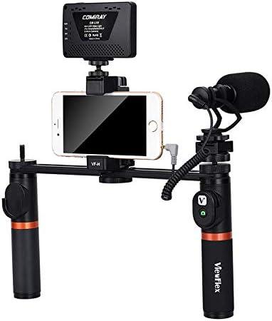 VIEWFLEX VF-H7 - Estabilizador de vídeo electrónico con Bluetooth ...