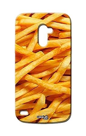 Funda carcasa Case patatas fritas para LG L Bello D331 ...