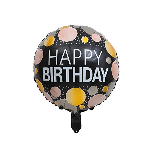 """5 Pack 18/"""" Round Congratulations Foil Helium Party Balloon Roly Bear"""