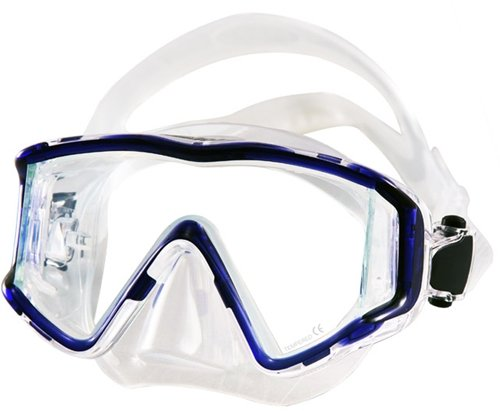 Tilos Single Lens Panoramic SG Mask (Blue) - Edge Panoramic Low Mask