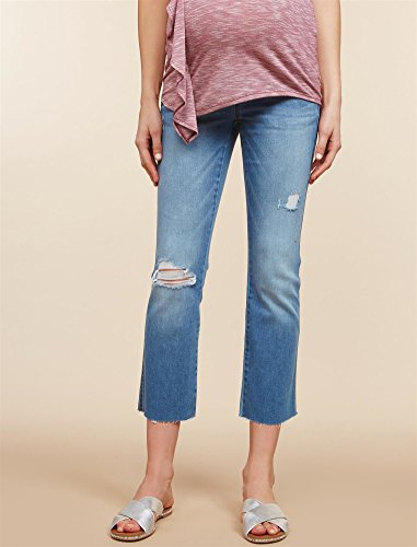 Jessica Simpson Secret Fit Belly Boot Cut Maternity Crop Jeans by Motherhood Maternity (Image #2)