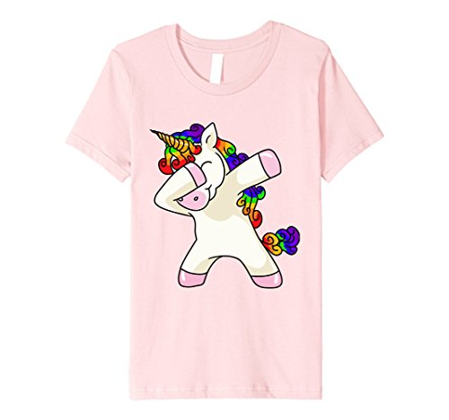 Kids Unicorn Dabbing Shirt