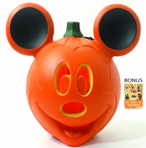 Disney Mickey Mouse Ears Light Up Pumpkin