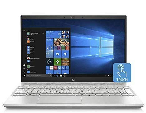 HP 15-CS00 Slim Touchscreen Gaming Laptop in Silver 7th Gen Intel i7 up to 3.5GHz 12GB RAM 1TB HDD 15.6in FHD B O Play WiFi Nvidia 2GB Renewed