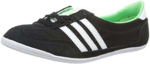 adidas Originals SL72 Ballerina W, Zapatillas de Estar por casa para Mujer, Negro-Schwarz (Black 1 / Running White FTW/ST Tropic Green S14), 40 EU