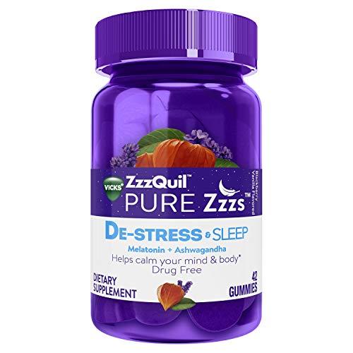 ZzzQuil Pure Zzzs De-Stress