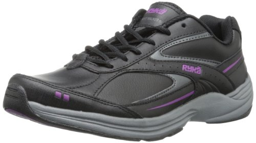 alker 6 Walking Shoe,Black/Iron Grey/Spellbound Purple,7 M US (Athletic Womens Walker)