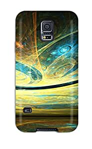 For TashaEliseSawyer Galaxy Protective Case, High Quality For Galaxy S5 Fractal Skin Case Cover 4159482K61628136