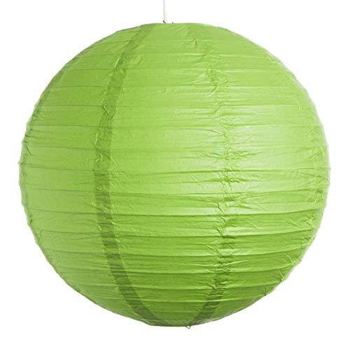Kala Decorators Paper Lantern  41 x 41 cm, Green
