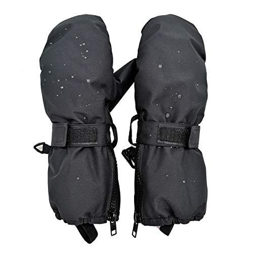 - Highcamp Kids Waterproof Snow Mittens - KSM8BK