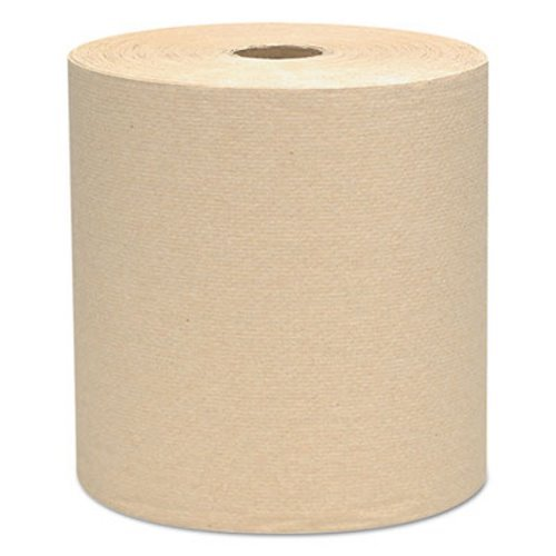 Scott Hard Roll Paper Towels (04142), Natural, 800' / Roll, 12 Rolls / Case, 9,600' / Case by Scott