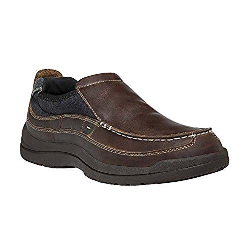 Propet Mens Hugh Shoe & Oxy Cleaner Bundle Brown