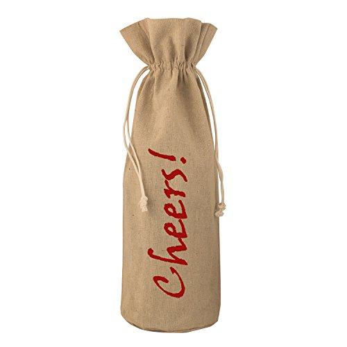 Chardonnay Wine Club - 3 Burlap Wine Bags - Printed