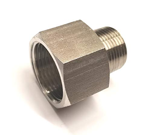 Stainless Steel Adapter Reducer Nipple 3/4