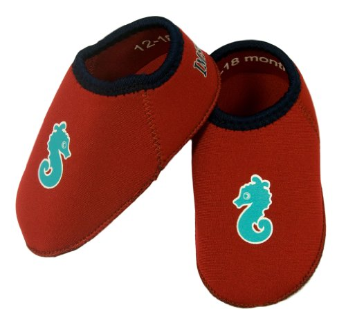 Imse Vimse Water Shoes Red Size 5 (6-12 Months) by Imse Vimse