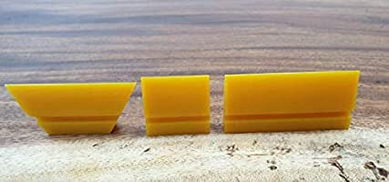 Far-Shaped Silent Revolution SR Yellow Turbo Squeegee-5 x 5 cm 10 x 5 cm 10 x 5 cm Rectangle Square 10 x 5 cm Far-Shaped