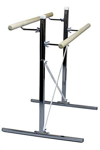 バレエバー – Free Standing B00NI0ILMS Poplar Ballet Barre 6' long
