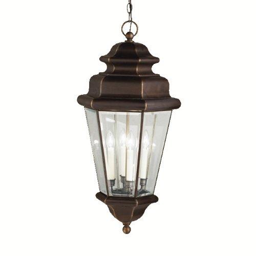 nah Estates Outdoor Pendant 4-Light, Olde Bronze ()