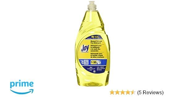 Procter & Gamble Commercial PAG45114 Joy Dish Soap, Lemon Scent, 38 Oz