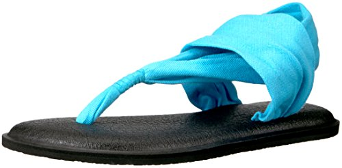 Sanuk Sandal Sling Yoga Aqua 2 Thong rrgwq