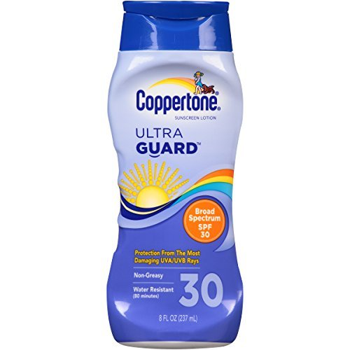 (Coppertone UltraGuard Sunscreen Lotion SPF 30 8 OZ - Buy Packs and SAVE (Pack of 2))