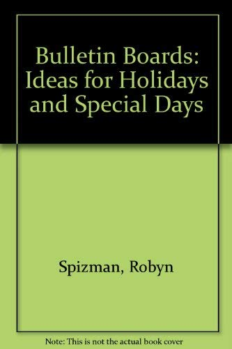 Bulletin Boards: Ideas for Holidays and Special Days]()