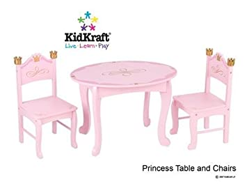 KidKraft Princess Table \u0026 Chair Set  sc 1 st  Amazon.com & Amazon.com: KidKraft Princess Table \u0026 Chair Set: Baby