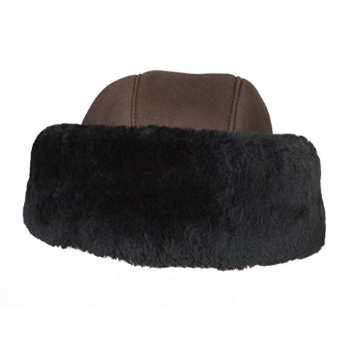 Tsarina Sheepskin Shearling Hat By Susan Bradford (Brown)