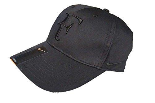 Nike Mens Roger Federer RF Hybrid Tennis Hat Black/Flint Grey