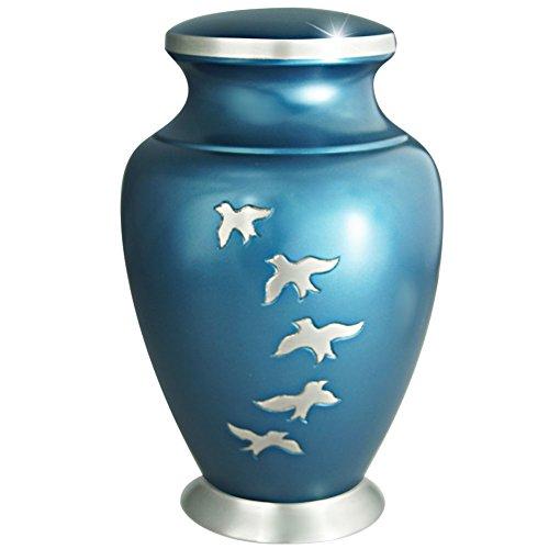 metal burial urn - 5