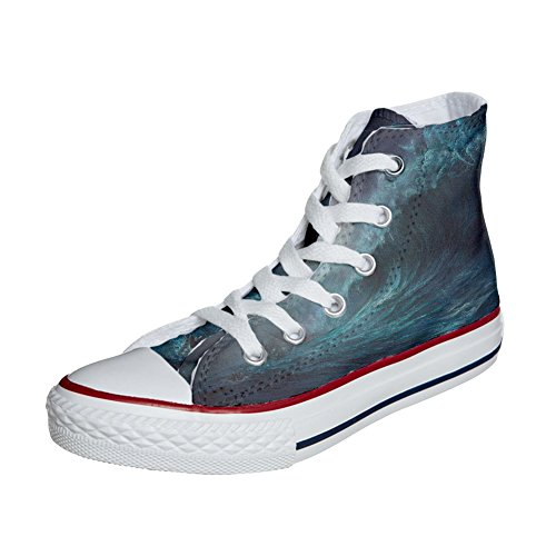 Converse All Star zapatos personalizados (Producto Handmade) Perfect Wave