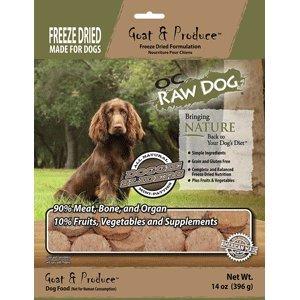 Raw Goat - OC Raw Freeze Dried Goat & Produce Sliders 14oz