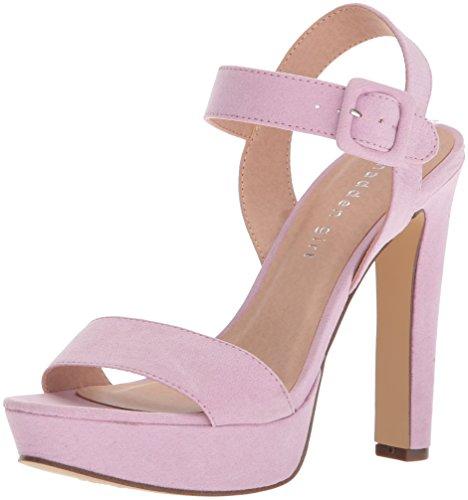 Madden Girl Women's Rolloo Heeled Sandal Lavender Micro eHw2r8