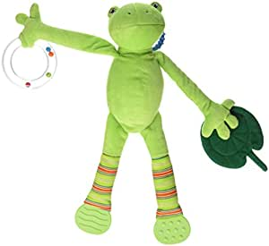 North American Bear Pond Pets Frog Activity Squeaker, Green