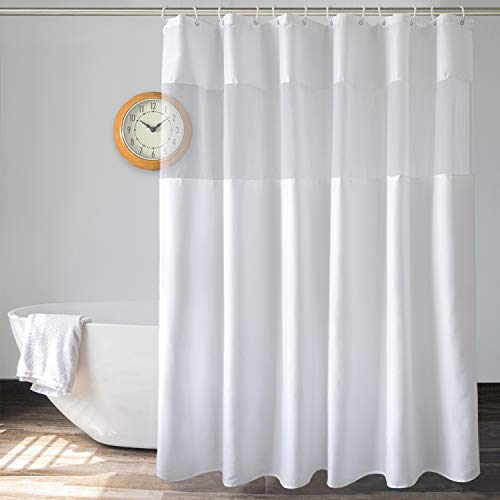 UFRIDAY White Shower Curtain