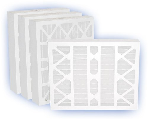 Airguard Pleated Filter Air Panel - 16 x 25 x 4 - DP Green 13 Pleated Panel Filter - MERV 13 4-Pack
